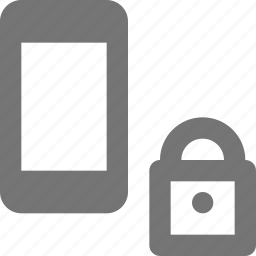lock, locked, phone, security, smartphone, telephone icon
