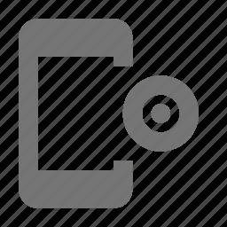 phone, record, smartphone, telephone icon