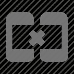 phone, remove, smartphone, sync, telephone icon
