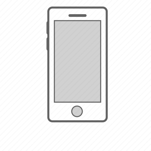 cell phone, device, mobile, phone icon