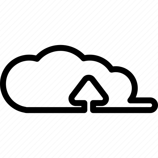 backup, cloud, drive, ftp, storage, upload, uploading icon
