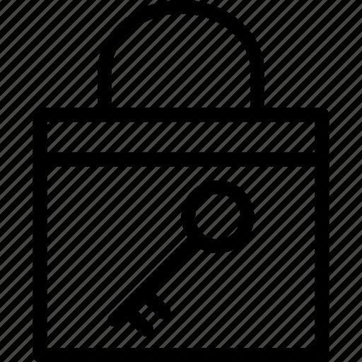 access, entry, key, latchkey, password, security, unlock icon