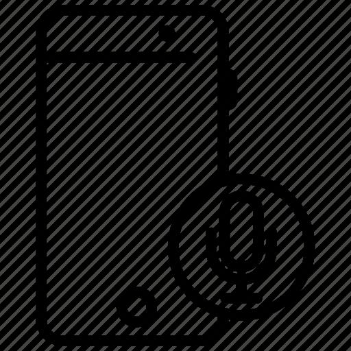 fm record, mobile, mobile application, mobile phone, mobile record icon
