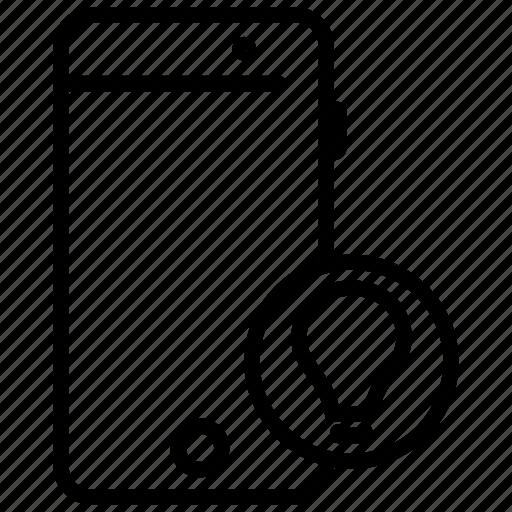idea, mobile, mobile application, mobile clue, mobile phone icon