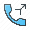 call, merge, phone, telephone icon