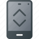 bandwidth, mobile, phone, smart, smartphone icon