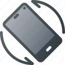 phone, rotate, rotation, screen, smart, smartphone icon