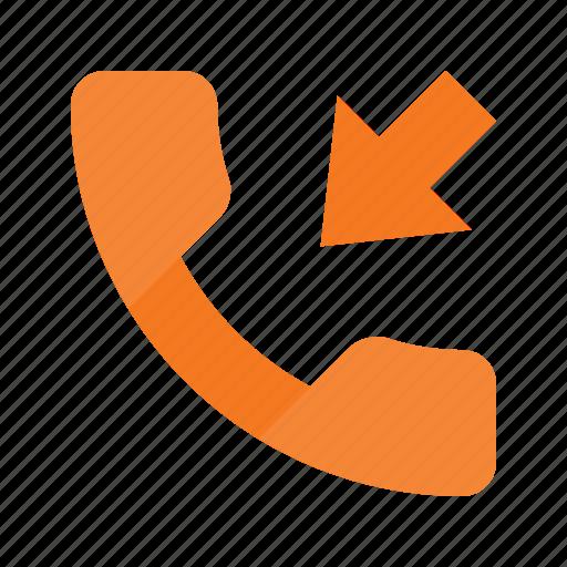call, callmissed, incommingmissed, phone, telephone icon