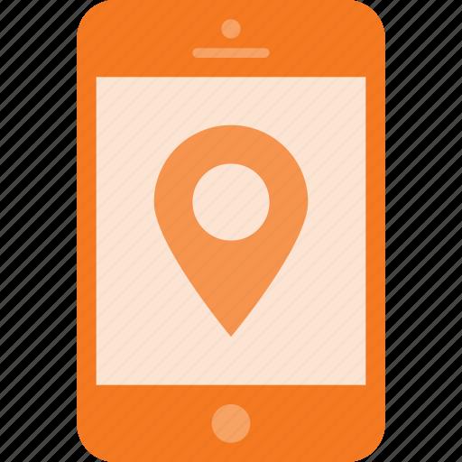 gprs, gps, location, mobile, phone, smart, smartphone icon