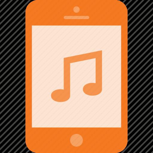mobile, music, phone, smart, smartphone, sound icon