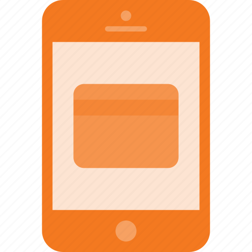 card, mobile, payment, phone, smart, smartphone icon
