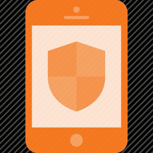 mobile, phone, protect, smart, smartphone icon