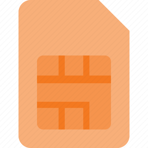card, communication, mobile, phone, sim icon