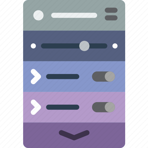 experience, mobile, options, smartphone, switch, user, ux icon