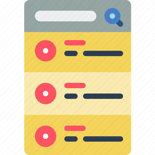 buttons, experience, mobile, radio, smartphone, user, ux icon