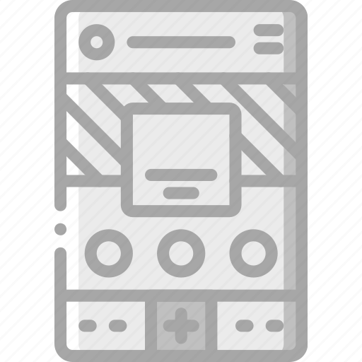 experience, mobile, page, profile, smartphone, user, ux icon
