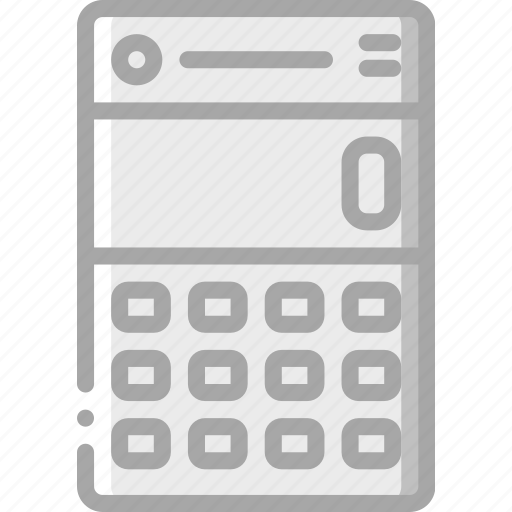 app, calculator, experience, mobile, smartphone, user, ux icon