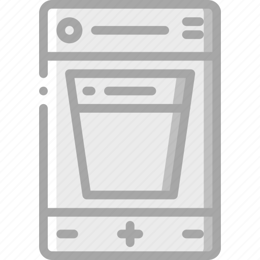 apps, experience, mobile, scroll, smartphone, user, ux icon