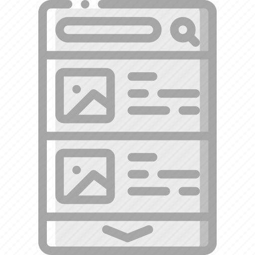 details, experience, mobile, smartphone, thumnbnail, user, ux icon