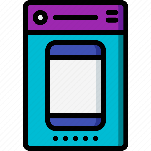 experience, mobile, phone, set, smartphone, up, user, ux icon