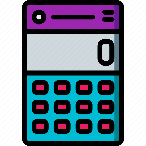 app, calculator, experience, mobile, smartphone, user, ux icon
