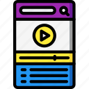 experience, mobile, movie, playlist, smartphone, user, ux