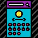 app, calendar, experience, mobile, smartphone, user, ux icon
