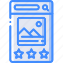 experience, image, mobile, rate, smartphone, user, ux icon