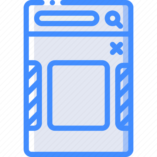 experience, image, mobile, select, smartphone, user, ux icon