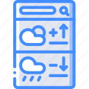 smartphone, ux, mobile, app, experience, weather, user