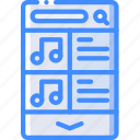 experience, mobile, music, playlist, smartphone, user, ux