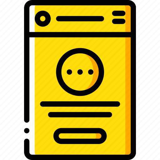 experience, mobile, options, smartphone, user, ux icon