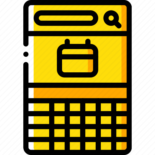 app, calendar, experience, mobile, smartphone, user, ux icon