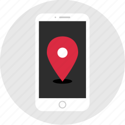 find, gps, location, mobile, mockup, pin, wireframe icon