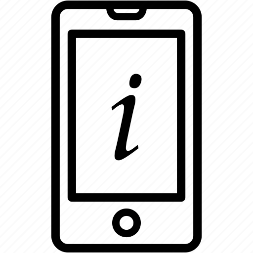 info, information, iphone, mobile, option, smartphone icon