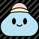 man, emoticon, emoji, smiley, grinning