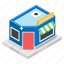 bistro, cafe, canteen, eatery, hotel, restaurant icon