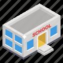 academia, arcade, condominium, educational establishment, educational institute, school, schoolhouse
