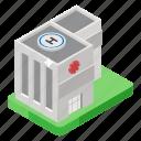pharmacy, clinic, rehabilitation center, commercial center, rehab, hospital icon