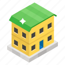 abode, bungalow, dacha, retreat, shack, terraced house, villa icon