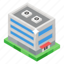 building, commercial building, commercial center, modern building, shopping mall icon