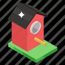 bird box, bird feeder, bird house, house for birds, rural box icon