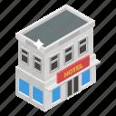 commercial building, marketplace, shop, shopping platform, store icon