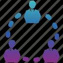 business, business icon, businessman, communication, seo, teamwork icon