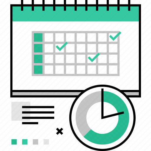 business, calendar, deadline, personal, planning, shedule, timing icon