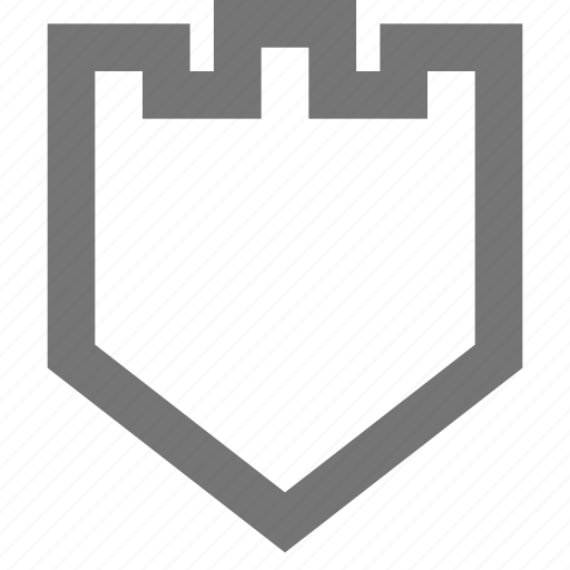 app, business, firewall, material, protection, security, shield icon