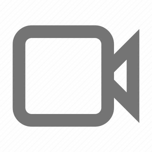 business, call, material, movie, social media, video, videocam icon