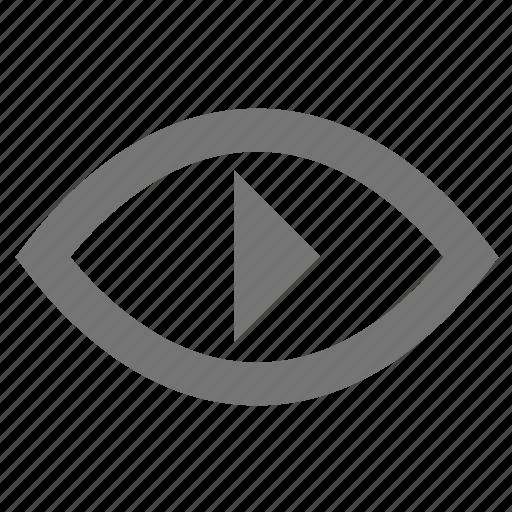 Control, eye, material, movie, surveillance, video, watch icon - Download on Iconfinder