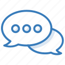 chat balloon, chat bubble, message, speech balloon, speech bubble icon