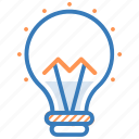 light bulb, bulb, luminaire, idea, light